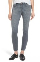 Current/Elliott Women's 'The Stiletto' Leopard Print Skinny Jeans