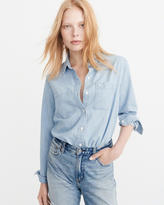 Abercrombie & Fitch Icon Denim Shirt