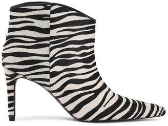 custommade AEJA BOOTS ZEBRA - size 3/36 | leather | Zebra Print