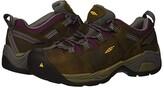 Keen Detroit XT Steel Toe (Cascade Brown/Amaranth) Women's Work Boots