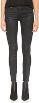 Blank Coated Skinny Jeans