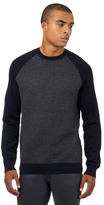 Red Herring Navy Textured Front Panel Jumper