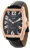 Stuhrling Original Men's 233.33451 Classic Waldorf Swiss Quartz Day and Date Black Watch