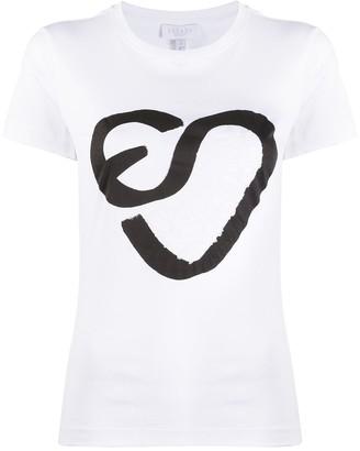 Escada Sport jersey logo T-shirt