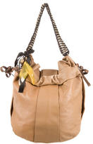 Marni Leather Drawstring Hobo