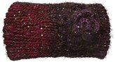 David & Young Women's Spacedye Feather Yarn Headwrap