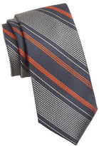 Cole Haan Striped Silk Tie