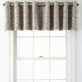 JCP HOME JCPenney HomeTM Addison Blackout Grommet-Top Tailored Valance