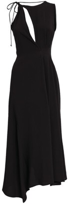 Victoria Beckham Sleeveless Asymmetric Midi Dress