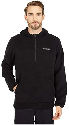 Columbia Rugged Ridge II Sherpa Pullover (Black) Men's Clothing