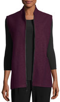 Caroline Rose Paris Plus Zip-Up Vest, Plus Size