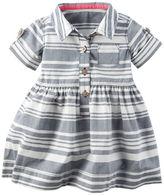 Carter's Striped Poplin Dress