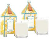 Seda France Alabaster Lily Pagoda Candles (10 OZ) (Set of 2)