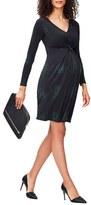 Leota Women's Print Knot Detail Jersey Dress