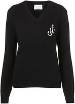 J.W.Anderson **V-Neck School Sweater by for Topshop