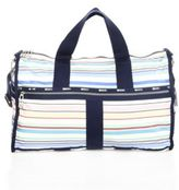 Le Sport Sac CR Large Stripe Weekender Bag