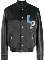 Lanvin logo bomber jacket