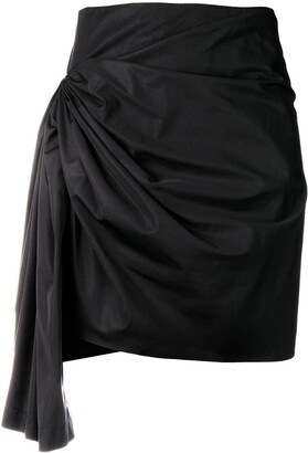 Givenchy Short Draped Skirt