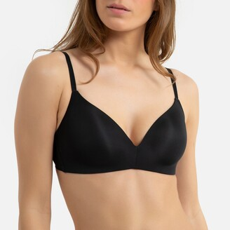 La Redoute Collections Invisible Non-Underwired Triangle Bra
