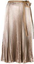 Valentino pleated skirt - women - Silk/Viscose - 44