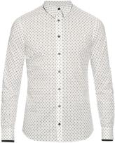 Alexander McQueen Micro skull-print cotton shirt