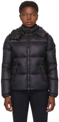 Moncler Black Down Fourmi Coat