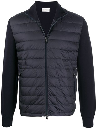 Moncler Quilted Zipped Cardigan