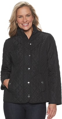 Croft & Barrow Women's Snap-Front Quilted Jacket