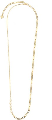 Wanderlust + Co Sea Of Light Gold Necklace