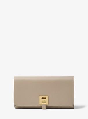 Michael Kors Bancroft Calf Leather Continental Wallet