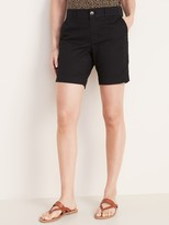 Old Navy Mid-Rise Twill Everyday Shorts for Women – 7-inch inseam