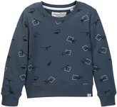 Sovereign Code Bryson Dino Crew Neck Sweatshirt (Toddler & Little Boys)