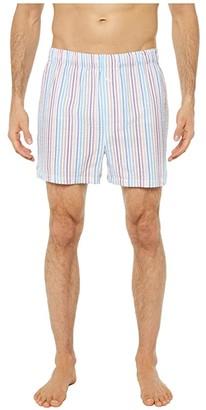 Tommy Bahama Yarn-Dye Seersucker Boxer (Crayon Stripe) Men's Underwear