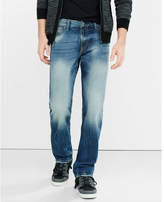 Express slim fit rocco medium straight leg jean
