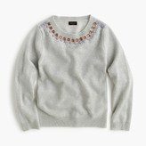 J.Crew Girls' cashmere necklace sweater