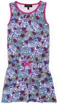 Juicy Couture Girls Knit Amazon Florals Dress
