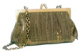 Whiting & Davis Chain Fringe Clutch.