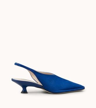 Blue Suede Slingback   Shop the world's