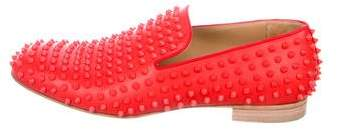 Christian Louboutin Spiked Smoking Slippers
