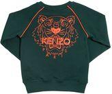 Kenzo Printed Logo Cotton Sweatshirt