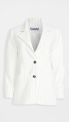 Ganni Suiting Blazer