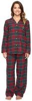 Lauren Ralph Lauren Petite Folded Brushed Twill Pajama