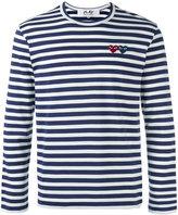 Comme des Garcons Breton stripe T-shirt - men - Cotton - S