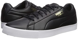 Puma Golf OG Black Black) Men's Golf Shoes