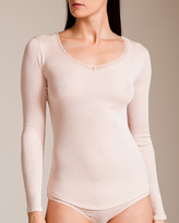 Hanro Marion Long Sleeve Top