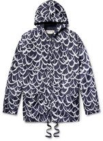 Marni Printed Shell Hooded Jacket