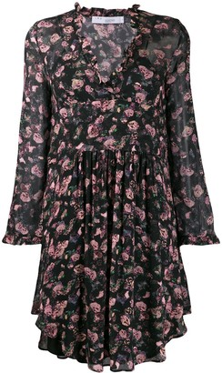 IRO Freida floral dress
