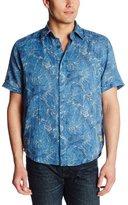 Margaritaville Men's Short Sleeve Gauze Shirt Swimmers