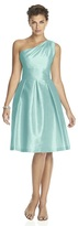 Alfred Sung D458 Bridesmaid Dress in Seaside