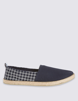M&S Collection Printed Slip-on Espadrilles
